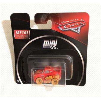 Cars Mini Racers, rayo mcqeen con barro