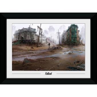 Fotografia enmarcada Fallout North End (30mm Negro)