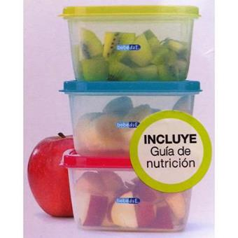 Pack 3 Recipientes Rectangulares Colours & Flavours 400ml