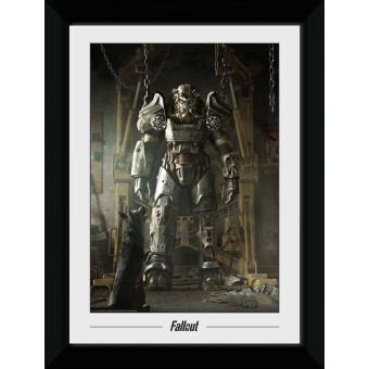Fotografia enmarcada Fallout Power Armour (30mm Negro)