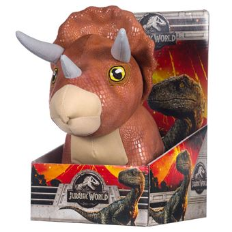 Peluche Dinosaurio Triceratops Jurassic World 25cm