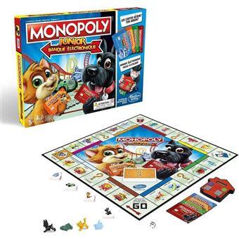 MONOPOLY - Junior Electronics - Juego de mesa