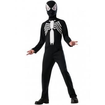 Disfraz Spiderman Negro Ultimate Spiderman para niño Original - Talla - 8-10 años