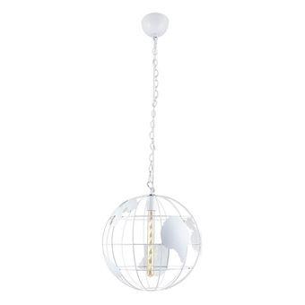 Lámpara de Suspensión Homemania Dunya Blanco, 40x40x120 cm
