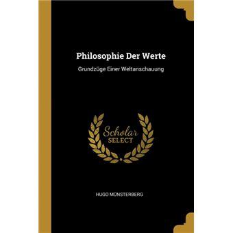 Serie ÚnicaPhilosophie Der Werte Paperback