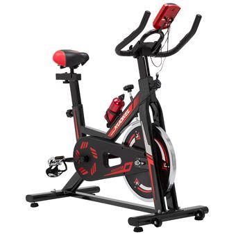 Bicicleta estática ejercicio Kuokel WSP6901 con resistencia ajustable y asiento ajustable