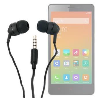 Auriculares Con Cable Para Xiaomi Redmi Note 3 - ¡Con La Mejor Calidad De Sonido! Por DURAGADGET