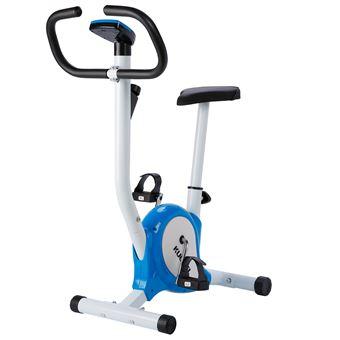 Bicicleta Estática Vertical Ejercicio Kuokel YS-F01 Pedal antideslizante Azul