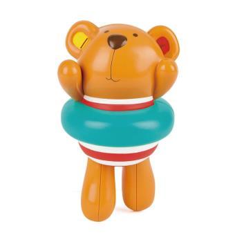 Muñeco nadador de cuerda Teddy E0204 Hape