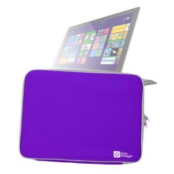 """Funda De Neopreno Morada Para Lenovo FLEX 3 15.6"""" / ThinkPad T550 / Yoga 15 - ¡Máxima Protección Para Su Ordenador! - ¡Resistente Al Agua! Por DURAGADGET"""