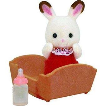 Sylvanian families bebé conejo chocolate