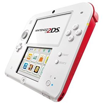 Nintendo 2DS - Blanc & Rouge + new Super Mario Bros. 2 - Édition Spéciale , Importación Francesa