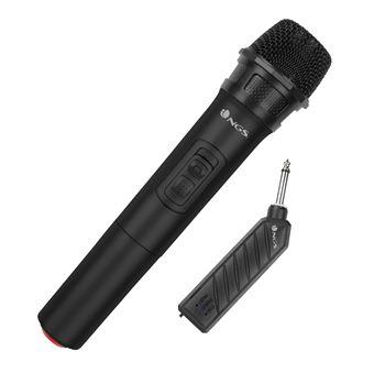 Micrófono Inalámbrico NGS Singer Air, Tipo Dinámico
