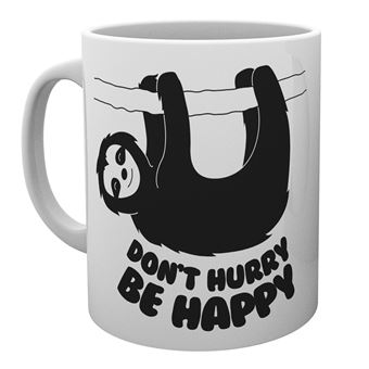 Taza Philoslothical Be Happy