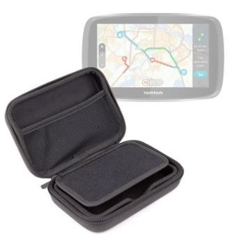 Funda Rígida Para El GPS TomTom GO 51   Con Cierre De Cremallera - ¡Ideal Para Mantener Su Gps Libre De Golpes! Por DURAGADGET