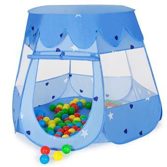 Tienda infantil con 100 bolas, Azul