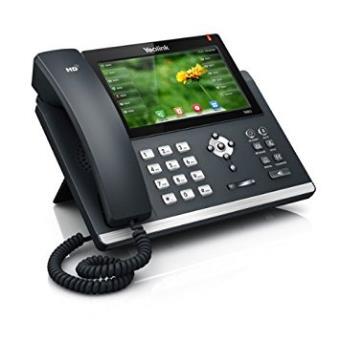 Teléfono ip / Voip Yealink Sip-t48g Terminal con Conexión por Cable led Negro