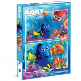 Puzzle Buscando a Dory Disney 2x60pz