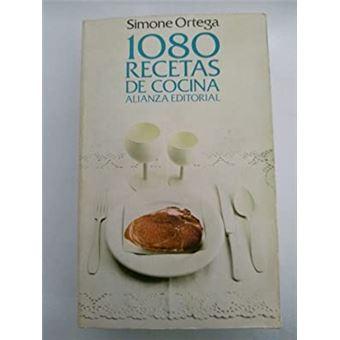 1080 Recetas De Cocina De Simone Ortega | 1080 Recetas De Cocina Ortega Simone 5 En Libros Fnac