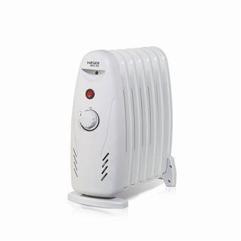 Calefactor Radiador Eléctrico de Aceite Haeger MINI OIL 600W 7 elementos </br>