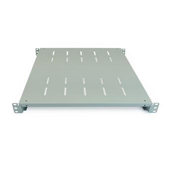 "Bandeja rack  RackMatic19"""" ajustable en profundidad 450 mm 1U blanco"