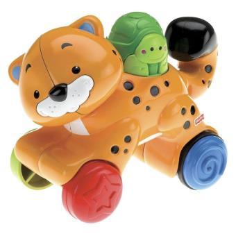 Mattel N8162 Fisher Price - Guepardo anda-anda