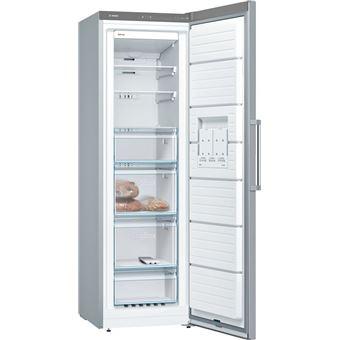 Congelador vertical Bosch GSN36VI3P No Frost A+++ acero inoxidable