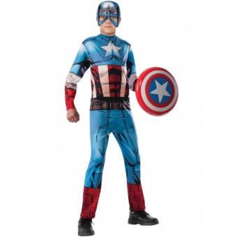 Disfraz Capitán América Marvel Vengadores para niño Original - Talla - 8-10 años
