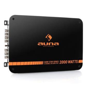 Auna Dark Star 2000 Amplificador coche 2 canales 200W RMS