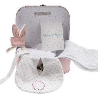 Box set regalo para bebé - Mini Box Rose - Maminébaba -  Niña