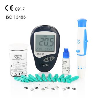 iHealth Medidor de glucosa en sangre Cozzine BG202 Blood Glucose Meter