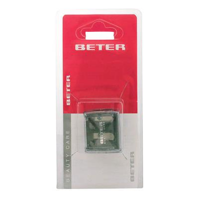 Beter - Pencil Sharpener Double for Cosmetics 8 & 12 mm 1 pz