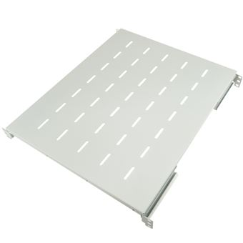 "Bandeja rack  RackMatic19"""" ajustable en profundidad 550 mm 1U blanco"