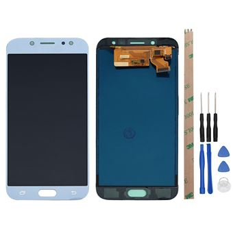 Pantalla Táctil Unico Para Samsung Galaxy J7 Pro 2017 J730G J730 J730 (Monitor LCD Completo) Azul
