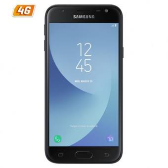 Smartphone Samsung Galaxy J330 j3 2017 Black - 5/12.7cm - cam 13/5mpx - qc 1.4ghz - 16gb - 2gb Ram