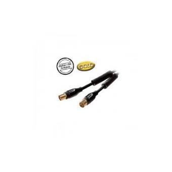Vivanco cable antena 90db oro 1 5m los mejores precios - Cable antena precio ...