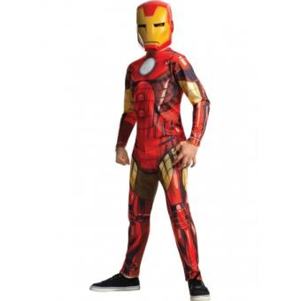 Disfraz Iron Man Marvel Vengadores para niño Original - Talla - 8-10 años