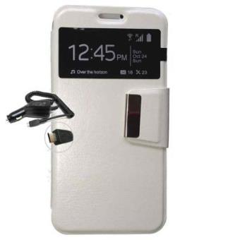 Funda Libro Ventana Samsung Galaxy Grand Neo Plus Blanca 1 Cargador Mechero Coche Fundas Y Carcasas Para Teléfono Móvil Los Mejores Precios Fnac