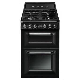 Cocina gas natural smeg tr62bl 2 hornos 4 fuegos cocina los mejores precios fnac - Cocina de gas precios ...