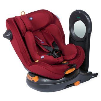 Silla de coche I-Size Chicco Around Bebé Care 2020, Modelo Red Passion