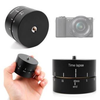 Base Para Trípode Para Sony ILCE-5100 L | Alpha A5100 + Gamuza -  Con Rotador Panorámico 360°-  60 Minutos Por DURAGADGET