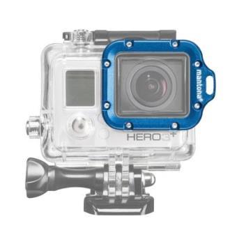Mantona 20551 - Soporte para videocámaras GoPro Hero, transparente