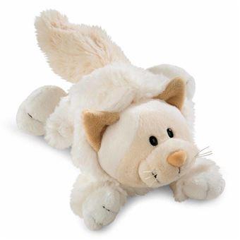 Peluche Gato Blanco Nici Soft 20cm