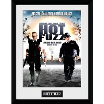 Fotografía Enmarcada Hot Fuzz One Sheet