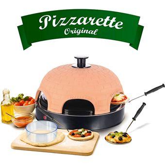 Horno para Pizzas EléctricoEmerio PO115984, 6 comensales, 1100W