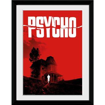 Fotografía Enmarcada Psycho Bates Motel