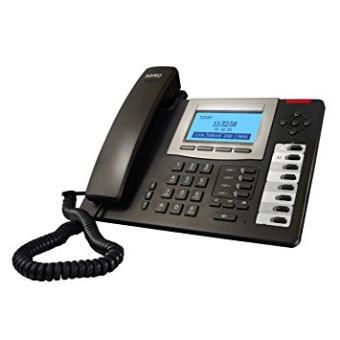 Teléfono ip / Voip Agfeo t 19 sip Terminal con Conexión por Cable 2líneas LCD Negro