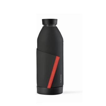 Botella Closca Black/Coral