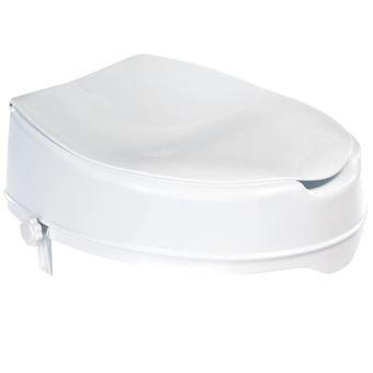 Asiento de inodoro Ridder, con tapa Blanco 150 kg A0071001