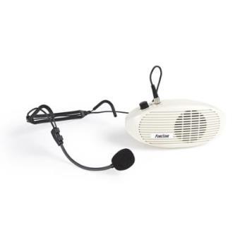 Amplificador de Cintura Fonestar, potencia de 5 W, 4 Ohm, con volumen ON / OFF, 180 x 80 x 65 mm